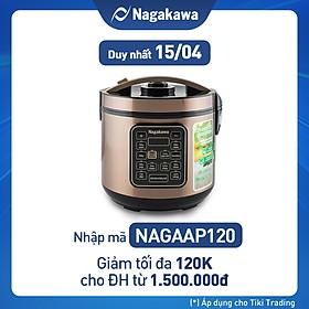 Nồi Cơm Tách Đường Nagakawa NAG0120 (1.8L) - Hàng Chính Hãng