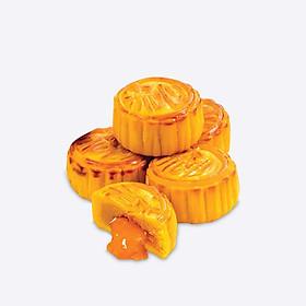 Bánh Trung Thu Cao Cấp La va - Golden Lava Mooncake thương hiệu Leyong Yin loại 45g