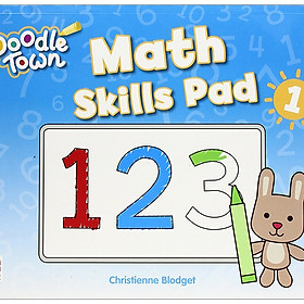 Doodle Town 1 Math Skills Pad