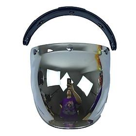 Motorcycle Helmet Glass Flip Up Helmet Bubble Shield Helmet Lens