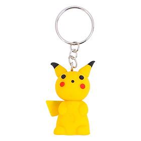 Móc Khóa Đơn Pikachu Dona Clay PK01