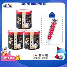 Combo 03 hộp tăm bông lấy ráy tai 180P hàng cao cấp nội địa Nhật Bản (Made in Japan) tặng bấm móng tay trẻ em 8.5cm (giao màu ngẫu nhiên)