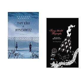 Combo 2 cuốn sách: Thợ xăm ở Auschwitz + Trong khi chờ Bojangles