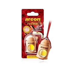 Tinh dầu treo xe hơi hương táo & quế – Areon Fresco Apple & Cinnamon (Dịu nhẹ)