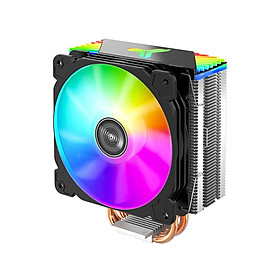 Jonsbo CR-1000GT CPU Radiator Computer CPU Cooler 4 Heat Pipes 5V ARGB Tower CPU Cooling Fan for Intel/AMD