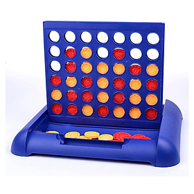 Line Up 4 In A Row Foldable Board Game Puzzle Chess Game For Kids & Adults