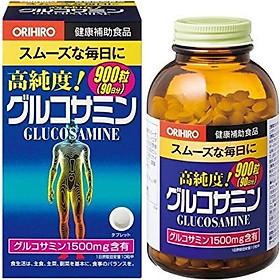 Thực phẩm chức năng viên uống bổ khớp, trị đau nhức xương khớp Glucosamine Orihiro 1500mg Nhật bản