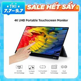 Màn hình cảm ứng 4K 14 inch GMK KD1 di động độ phân giải 3840*2160 với dung cảm ứng 10 điểm