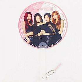 Quạt Blackpink tròn in hình idol