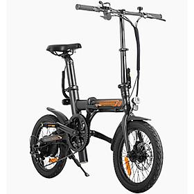 Xe đạp điện trợ lực Homesheel R5 plus ( màu đen) - Phiên bản mới nhất
