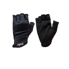 Găng tay thể thao chống nắng UPF50+ đen Zigzag GLV00405