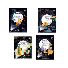 Combo 4 cuốn Sách chiếu bóng - Cinema book - Rạp chiếu phim trong sách: Nàng tiên cá + Cây tre trăm đốt + Vịt con xấu xí +Cô bé bán diêm