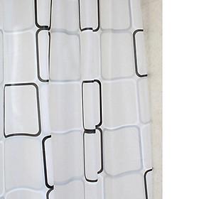 Rèm Nhà Tắm Chống Thấm Nước EVA (180 x 200 cm)