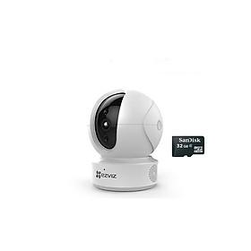 Camera IP wifi Ezviz CS-CV246 (C6CN 1080P) Kèm thẻ nhớ Sandisk 32GB - Hàng chính hãng