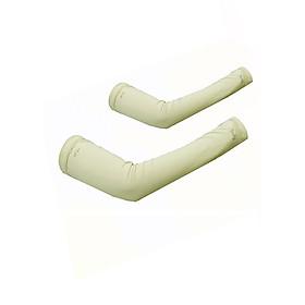 Găng tay ống chống nắng UPF50+ kem Zigzag GLV00206