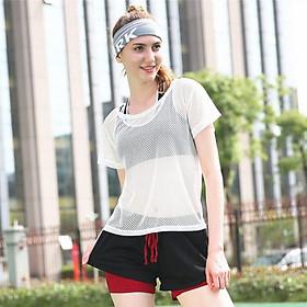Áo Thể Thao Lưới Tập Gym Yoga AL5001