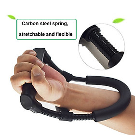 Arm Trainer Hand Grip Adjustable Forearm Grip Wrist Exercise Force Trainer Power Strengthener Body Fitness-3