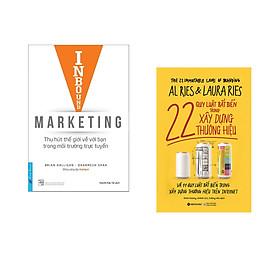 Combo 2 cuốn sách: Inbound Marketing -Thu Hút Thế giới Về Với Bạn Trong Môi Trường Trực Tuyến + 22 Quy Luật Bất Biến Trong Xây Dựng Thương Hiệu