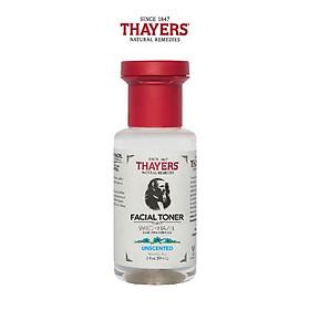 Nước hoa hồng không cồn THAYERS - Không mùi - Trial size 89ml