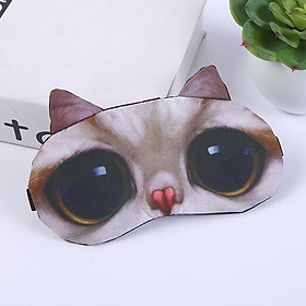 Miếng bịt mắt ngủ 3D có túi gel làm mát mắt