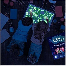 A3 A4 A5 Draw With Light Fun & Developing Drawing Board Kids Educational Toy