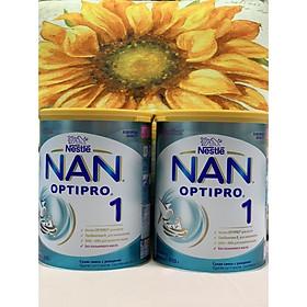 Combo 2 hộp Sữa Bột Nestlé NAN Nga Optipro 1 (800g) - 0 đến 6 tháng