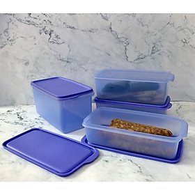 Bộ 4 hộp trữ mát Stak N Stor Tupperware