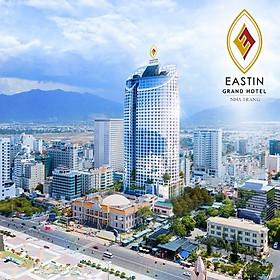 Eastin Grand Hotel 5* Nha Trang - Buffet Sáng, Hồ Bơi Vô Cực, Đối Diện Biển, Ngay Tháp Trầm Hương, Vị Trí Cực Đẹp, Dành Cho 02 Người Lớn & 01 Trẻ Em Dưới 16 Tuổi
