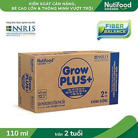 Biểu đồ lịch sử biến động giá bán Thùng 48 hộp sữa bột pha sẵn GrowPLUS+ Trắng không đường 110ml