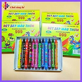 Bút sáp màu thơm MIC cho bé tập tô