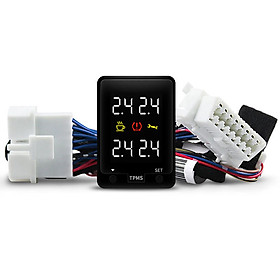 TPMS Car Security Alarm System Multi Function Real Time OBD Without Sensor Reminder for Toyota