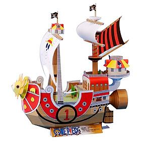 Mô hình giấy cắt dán thủ công The Thousand Sunny - One Piece