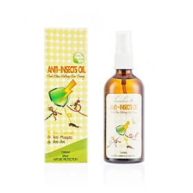 Tinh Dầu Chống Côn Trùng Lam Hà Anti-Insects Oil (100ml) : chống muỗi, gián, kiến, bọ chét, vắt…