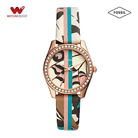 Đồng hồ Nữ Fossil dây da ES4609