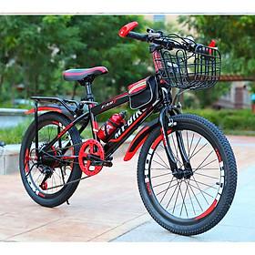 Xe đạp thể thao địa hình bánh 22 inch cho bé 9-13 tuổi Tặng kèm chuông + dầu tra xích (Giao màu ngẫu nhiên)