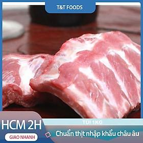 [Giao nhanh HCM] Sườn non heo (1kg) - cưa cắt theo yêu cầu