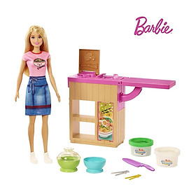 Đồ Chơi Cùng Barbie làm mỳ GHK43