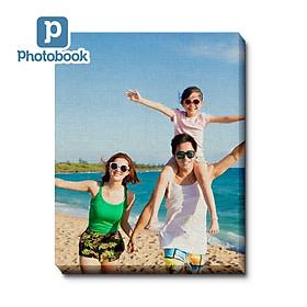 "Photobook: In tranh canvas vải 12"" x 8"" / 8"" x 12"" (30.5 x 20cm/ 20 x 30.5cm) theo yêu cầu"