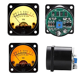 1 Set Vu Meter With Backlight Db Meter Power Meter 45mm Amplifier Volume With Driver Board