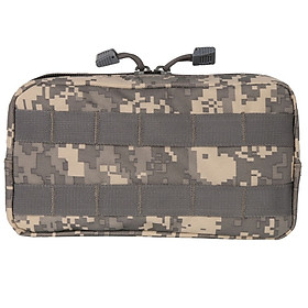 Outdoor 600D Nylon Military Pouch Tactical Tool Drop Bag Vest Sundries Camera Magazine Storage Bag Outdoor Traveling Bag