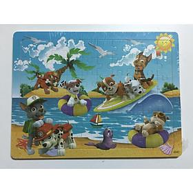 Tranh ghép hình gỗ 60 mảnh nhiều chủ đề lựa chọn cho bé - TẶNG kèm 01 túi Zip đựng mảnh ghép