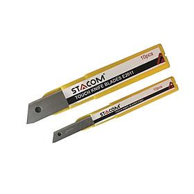 Lưỡi dao rọc giấy cỡ nhỏ STACOM  E2021