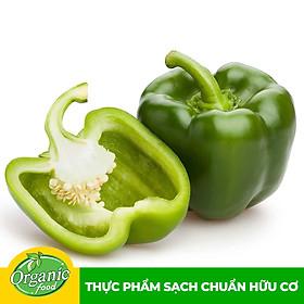 [Chỉ Giao HCM] - Ớt chuông Xanh hữu cơ Organicfood - 500g