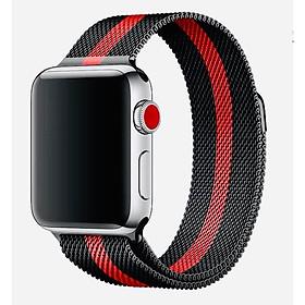 Dây Milanese Loop dành cho Apple Watch - loại kẻ sọc
