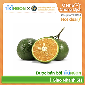 [Chỉ giao HCM] - Cam sành VietGAP Loại 1 (1kg) - được bán bởi TikiNGON - Giao nhanh 3H