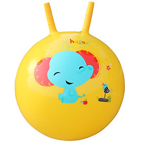 Fisher Price Toy Children's toy ball baby jumping ball 40cm (yellow donated inflatable foot pump) F0705H