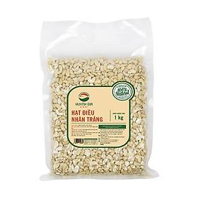 Hạt điều tươi vỡ đôi Huynh Gia Agri bịch 1kg, hat điều tươi làm sữa hạt, làm bánh, xuất xứ Bình Phước