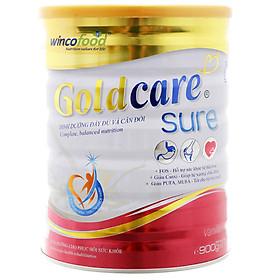 Sữa bột Goldcare Sure Dinh dưỡng đầy đủ và cân đối lon 900g (từ 30 tuổi trở lên)