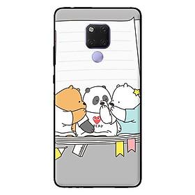 Ốp in cho Huawei Mate 20 3 Chú Gấu 3 - Hàng chính hãng