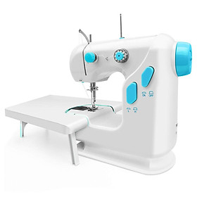 Mini Sewing Machine 306 Double Thread Stitching Electric Pedal Sewing Mending Machine
